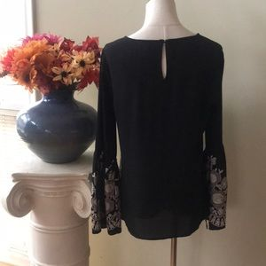 Maurices Tops - MAURICES black and cream tunic